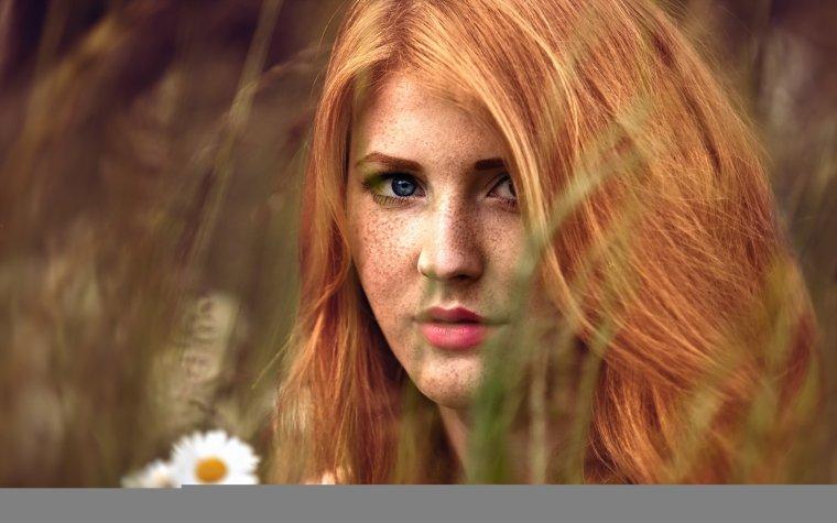 Красотки с веснушками: шикарные портреты 15