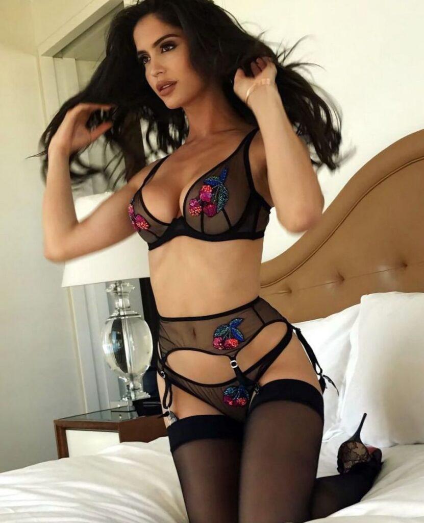 Красивые девушки в дорогом нижнем белье: самые сексуальные наряды 13
