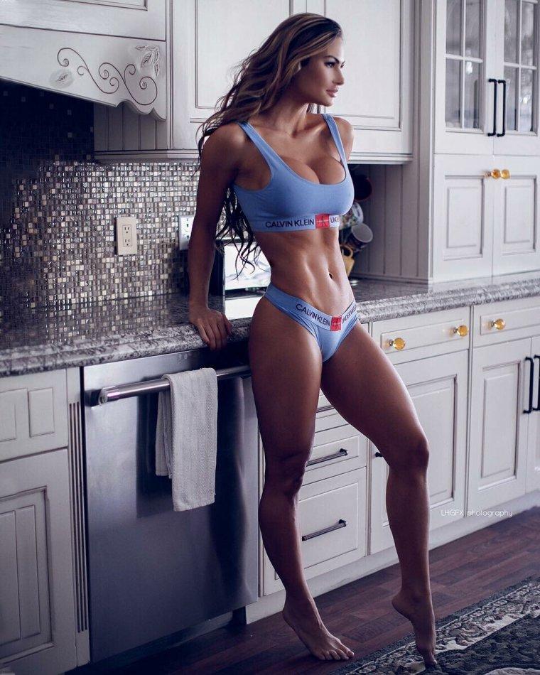 Очень красивые фитнес модели (53 ФОТО) 46