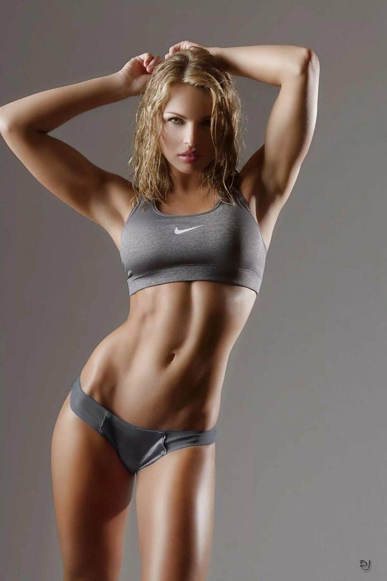 Очень красивые фитнес модели (53 ФОТО) 13