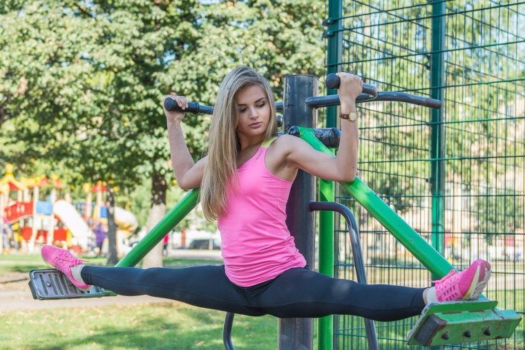 Очень красивые фитнес модели (53 ФОТО) 26