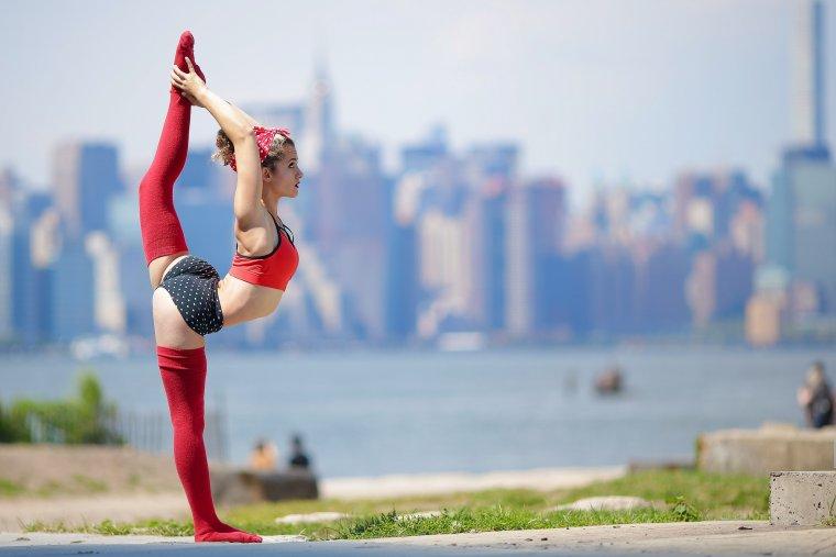Фото красивых гимнасток: гибкие и талантливые 4