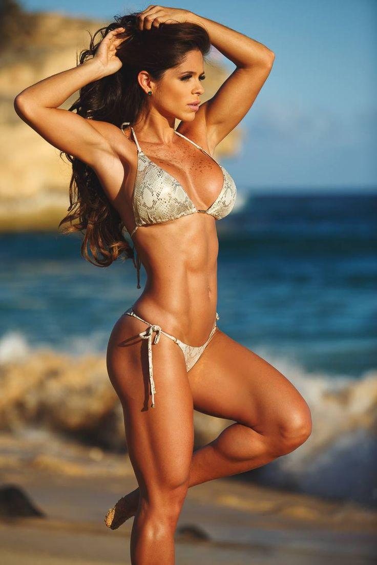 Очень красивые фитнес модели (53 ФОТО) 1