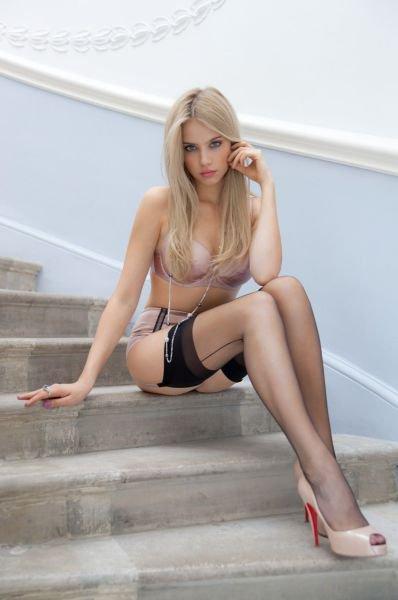 Милые и яркие блондинки в нижнем белье: залюбуешься 2