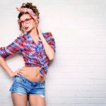 Гламурные фотографии девушек в стиле Pin Up 2