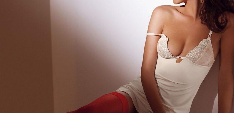 Фото девушек в красных чулках: шикарные и страстные
