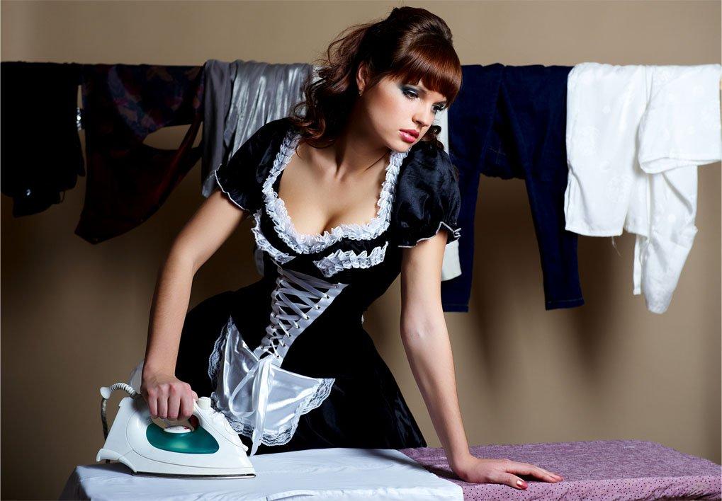 Сексуальные горничные: как вам такие домработницы? 2
