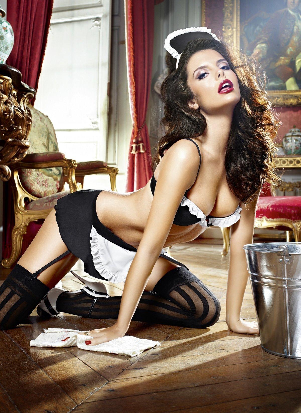 Сексуальные горничные: как вам такие домработницы? 9