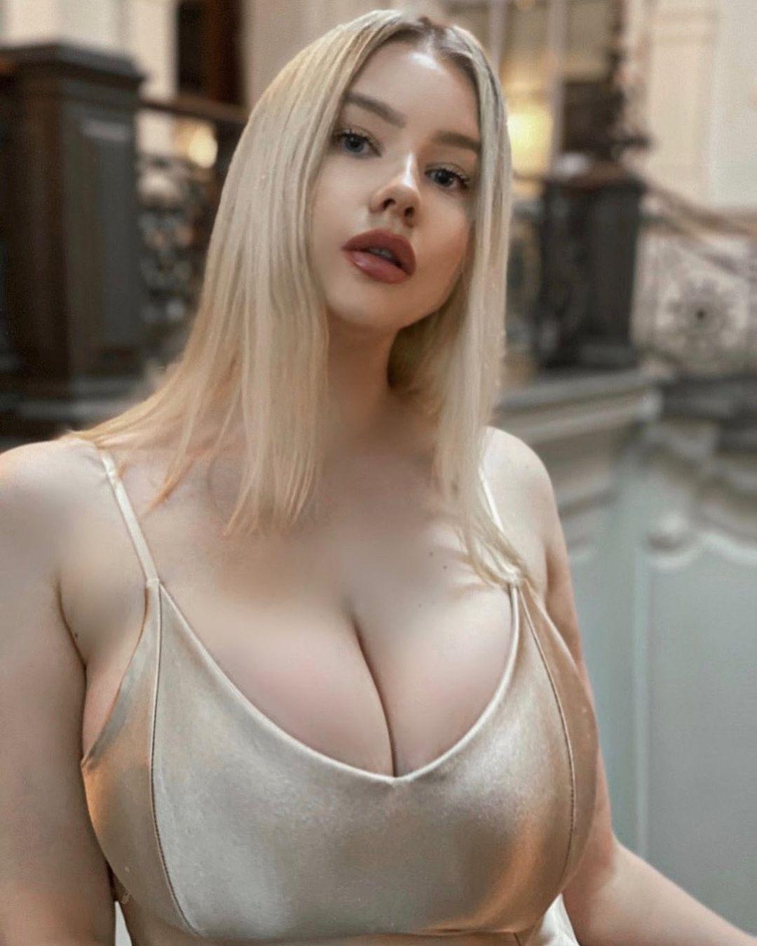 Прасковья Позднякова (Pasha Pozdniakova) - финская красотка с огромной грудью 5