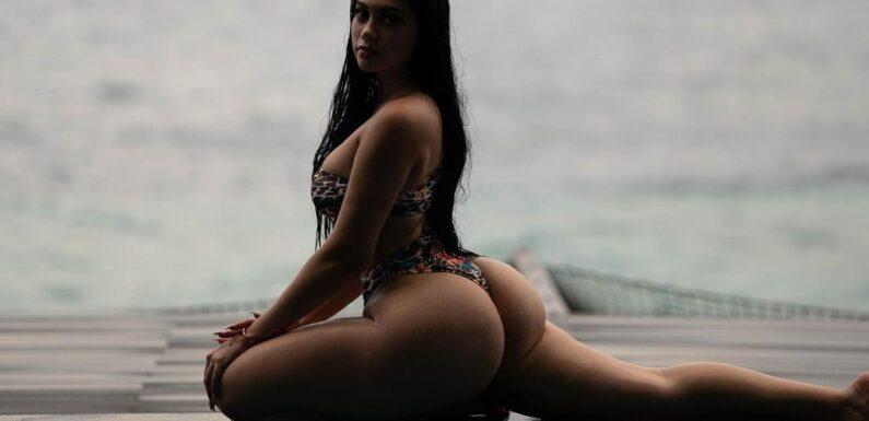 Jailyne Ojeda (Джейлин Охеда) – Сексуальная брюнетка с пышными бедрами