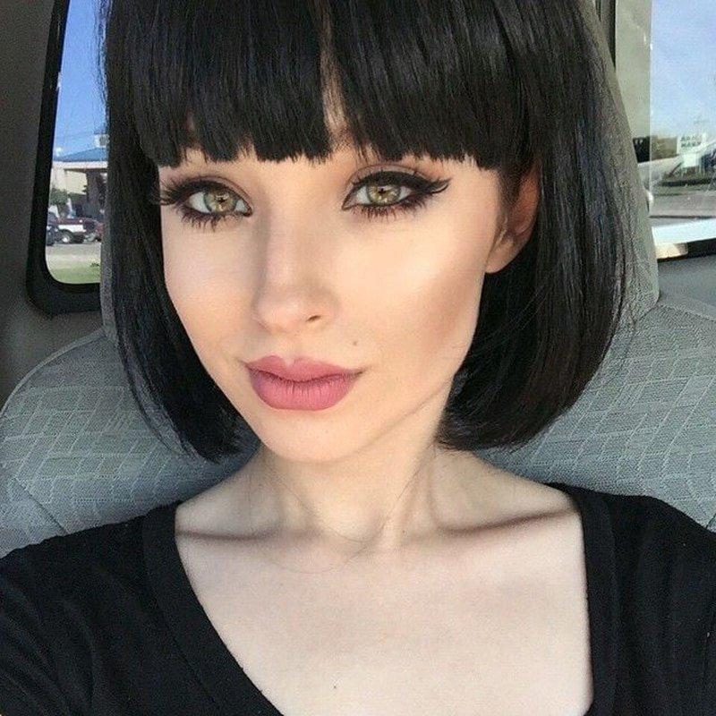 Шикарные девушки с каре: сексуальные брюнетки и блондинки с волосами до плеч 2