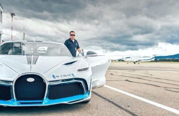 Bugatti Divo – новая модель за 5 миллионов евро
