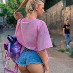Яркие и стройные девушки в обтягивающих джинсах и шортиках - ммм... 11