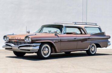 Dodge Polara Station Wagon 1960 года - удивительный универсал