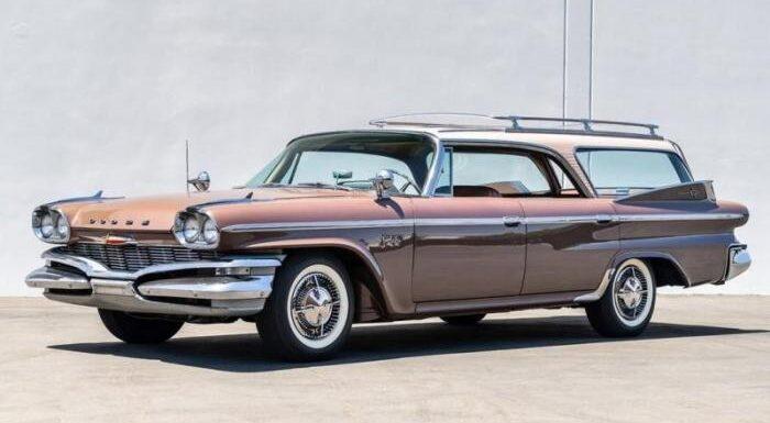 Dodge Polara Station Wagon 1960 года – удивительный универсал