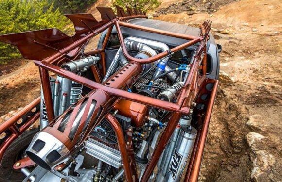 «Химера» — внедорожник из пикапа Chevrolet