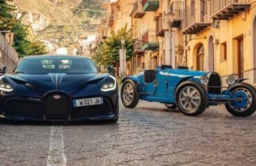 Bugatti Divo и старший брат Type