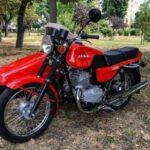 Jawa-350 1990 года после реставрации - а вы помните? 23