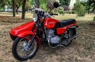 Jawa-350 1990 года после реставрации - а вы помните?