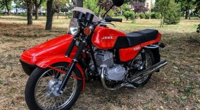 Jawa-350 1990 года после реставрации – а вы помните?