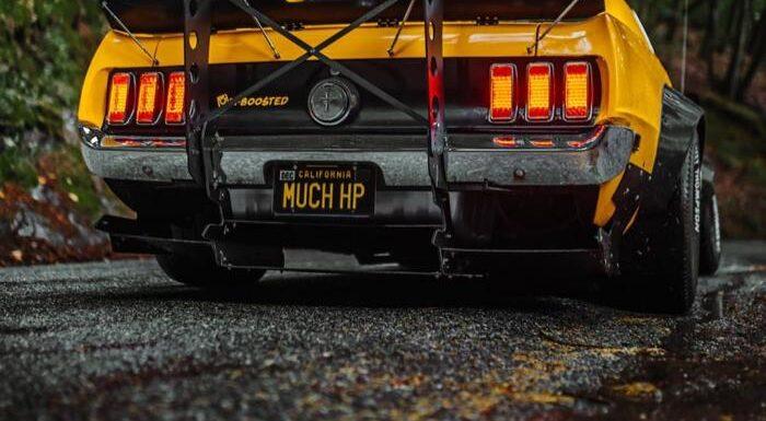 Классический Ford Mustang Twin-Turbo 1969 с мощностью Bugatti Veyron