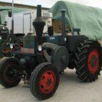 Lanz Bulldog – трактор-тягач грузов с нефтяным мотором 10