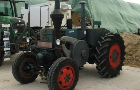 Lanz Bulldog – трактор-тягач грузов с нефтяным мотором