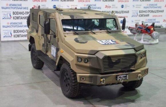Легкий бронеавтомобиль «Стрела» от производителя «Тигров»