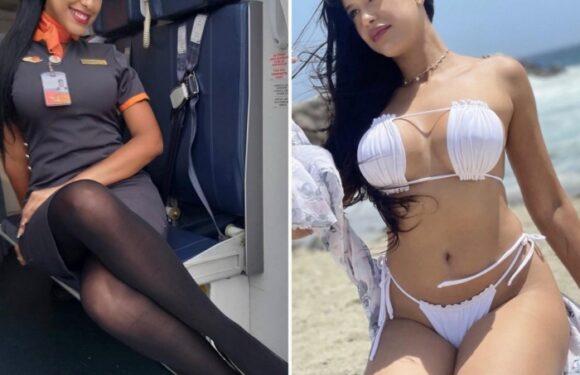 Сексуальные стюардессы: подборка красавиц в униформе и без неё