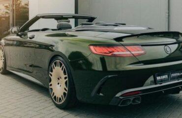 Тюнингованный Mercedes-AMG S63: ярко и стильно