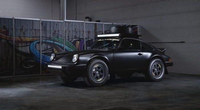 Уникальный внедорожный Porsche 1984 года